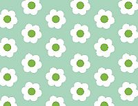 פרחים עגול רקע ירקרק