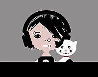 ילד וחתול