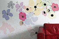 טפט מיקס פרחים בהיר