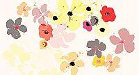 מיקס פרחים בהיר גווני כתום/צהוב