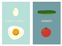 ביצת עין לארוחת הערב