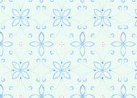 טפט אליזבת כחול על רקע תכלת